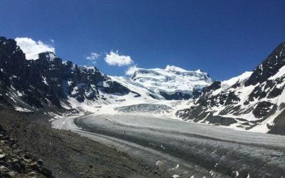 Sortie d'été du 17 et 18 août au glacier de la Corbassière